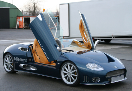Transport of luxury cars