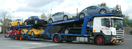 Autotransport Porche